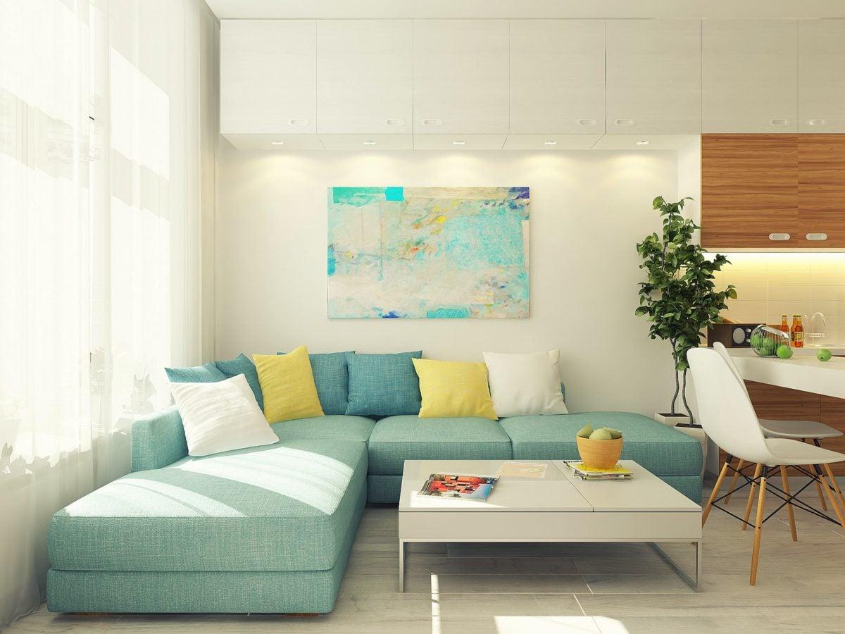 Dịu mắt với thiết kế căn hộ màu pastel dịu nhẹ