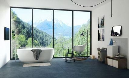 12 mẫu phòng tắm sang trọng với view tuyệt đẹp ra bên ngoài