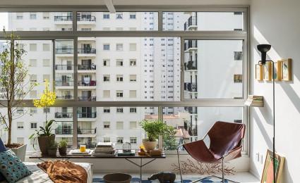 Căn hộ 50m² với nội thất ngập tràn ánh sáng tự nhiên