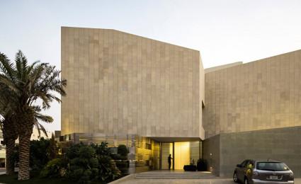 Wall house – Ngôi nhà của sự riêng tư tại Kuwait