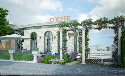 Thiết kế quán cà phê sân vườn Nguyệt Quế