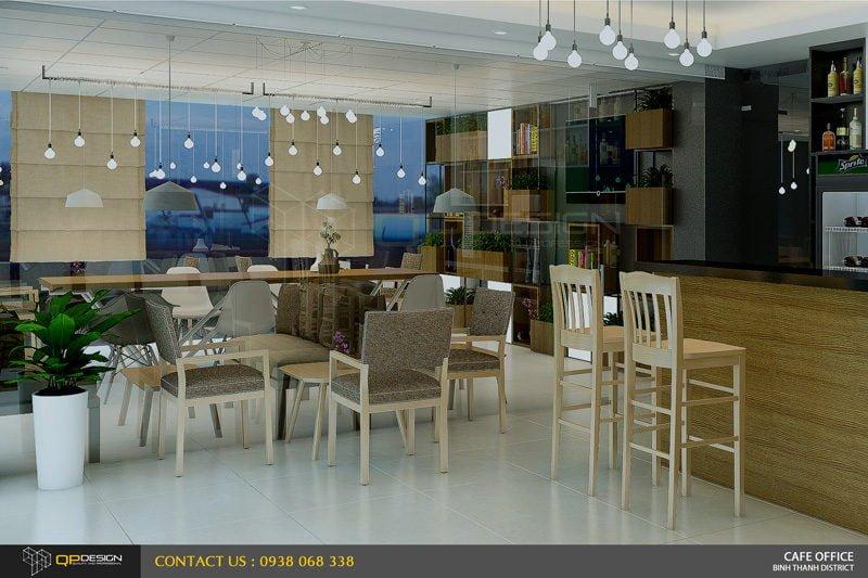 Thiết Kế Cafe Văn Phòng 212 Ung Văn Khiêm