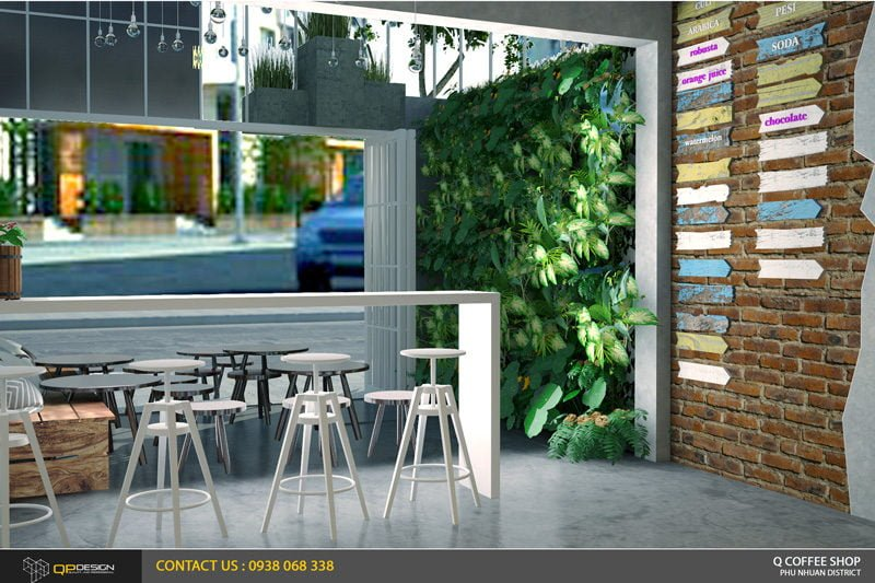 giao linh cafe 10 Thiết Kế Nội Thất Cafe Giao Linh qpdesign