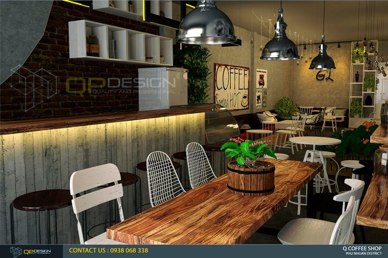 giao linh cafe 4 Thiết Kế Nội Thất Cafe Giao Linh qpdesign