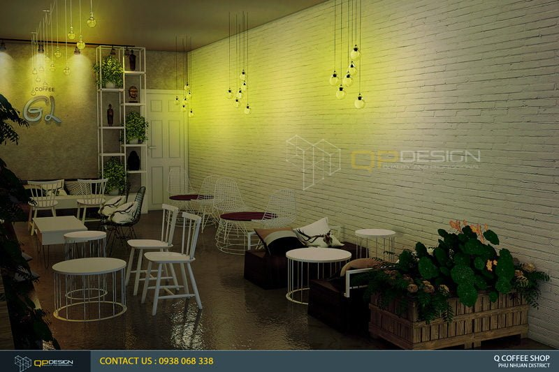 giao linh cafe 6 Thiết Kế Nội Thất Cafe Giao Linh qpdesign