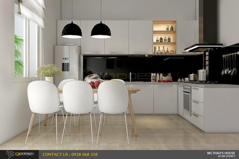 ms thao house 10 Thiết kế kiến trúc – nội thất nhà phố MS THẢO qpdesign