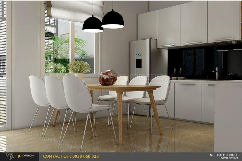 ms thao house 12 Thiết kế kiến trúc – nội thất nhà phố MS THẢO qpdesign