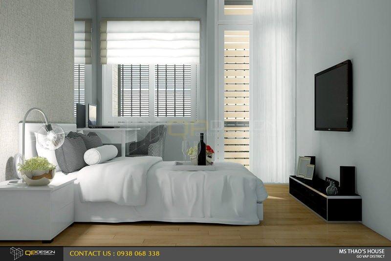 ms thao house 13 Thiết kế kiến trúc – nội thất nhà phố MS THẢO qpdesign