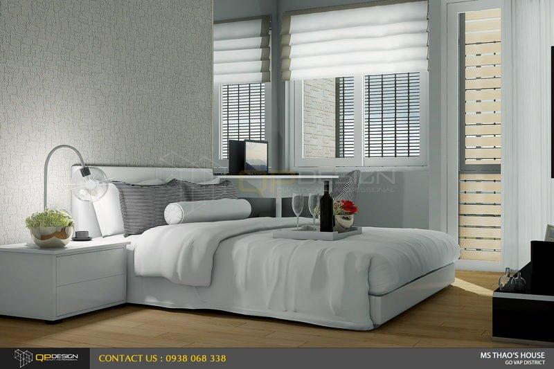 ms thao house 14 Thiết kế kiến trúc – nội thất nhà phố MS THẢO qpdesign