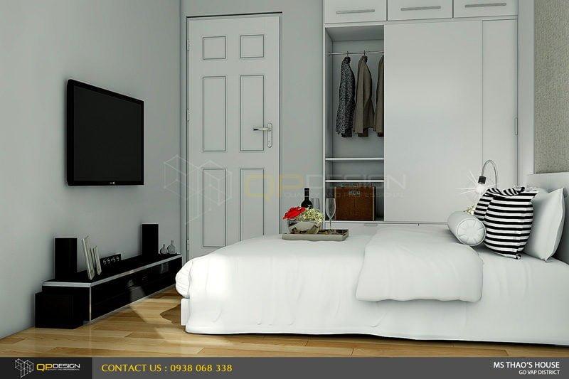ms thao house 15 Thiết kế kiến trúc – nội thất nhà phố MS THẢO qpdesign