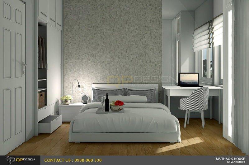 ms thao house 16 Thiết kế kiến trúc – nội thất nhà phố MS THẢO qpdesign
