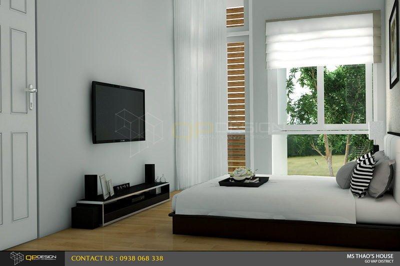 ms thao house 18 Thiết kế kiến trúc – nội thất nhà phố MS THẢO qpdesign