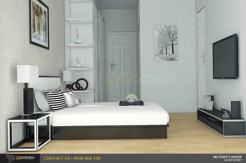 ms thao house 20 Thiết kế kiến trúc – nội thất nhà phố MS THẢO qpdesign