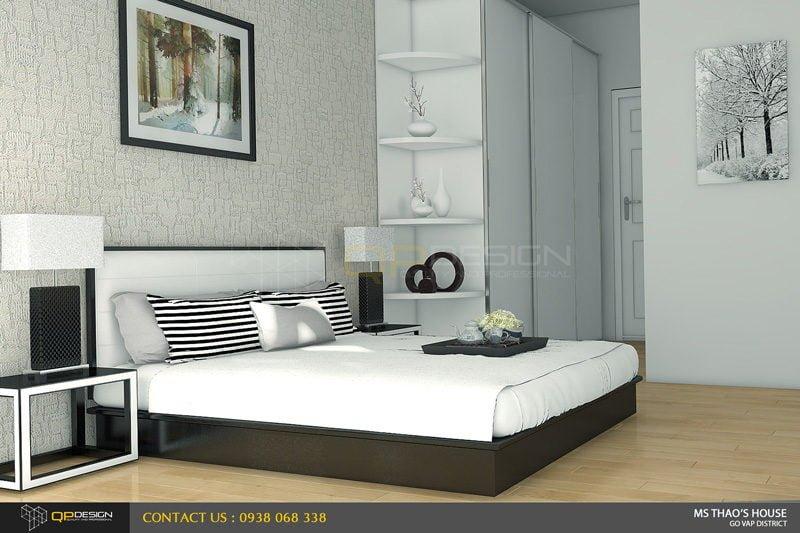 ms thao house 21 Thiết kế kiến trúc – nội thất nhà phố MS THẢO qpdesign