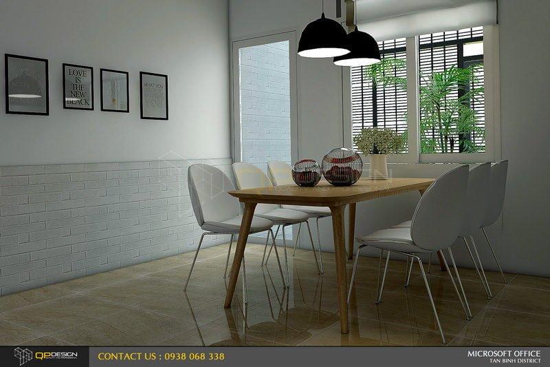 ms thao house 9 Thiết kế kiến trúc – nội thất nhà phố MS THẢO qpdesign