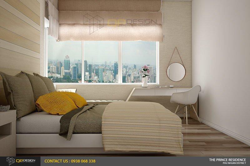 NOI THAT THE PRINCE 10 Thiết kế nội thất căn hộ chung cư 104m2   12 04 The Prince Residence qpdesign