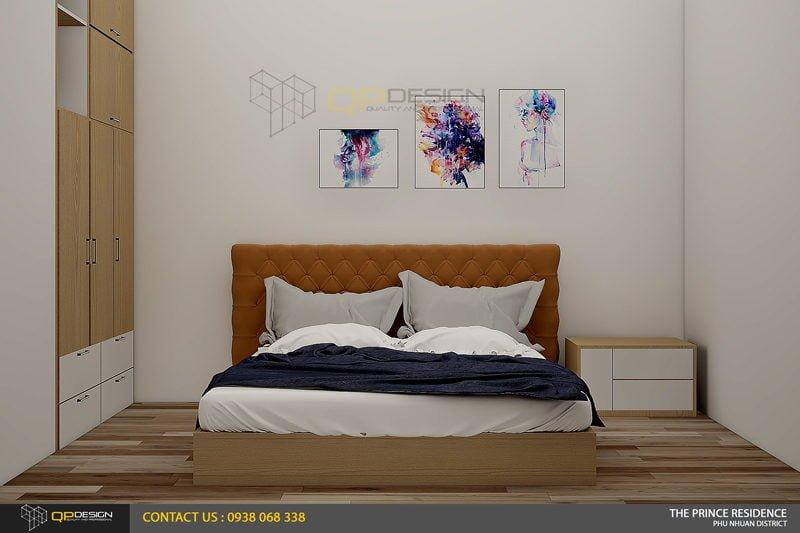 NOI THAT THE PRINCE 14 Thiết kế nội thất căn hộ chung cư 104m2   12 04 The Prince Residence qpdesign
