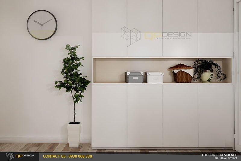 NOI THAT THE PRINCE 8 Thiết kế nội thất căn hộ chung cư 104m2   12 04 The Prince Residence qpdesign