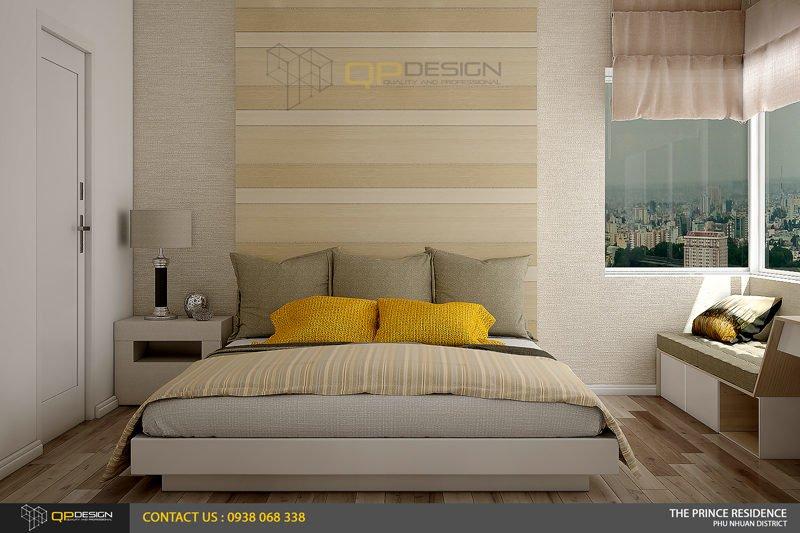NOI THAT THE PRINCE 9 Thiết kế nội thất căn hộ chung cư 104m2   12 04 The Prince Residence qpdesign