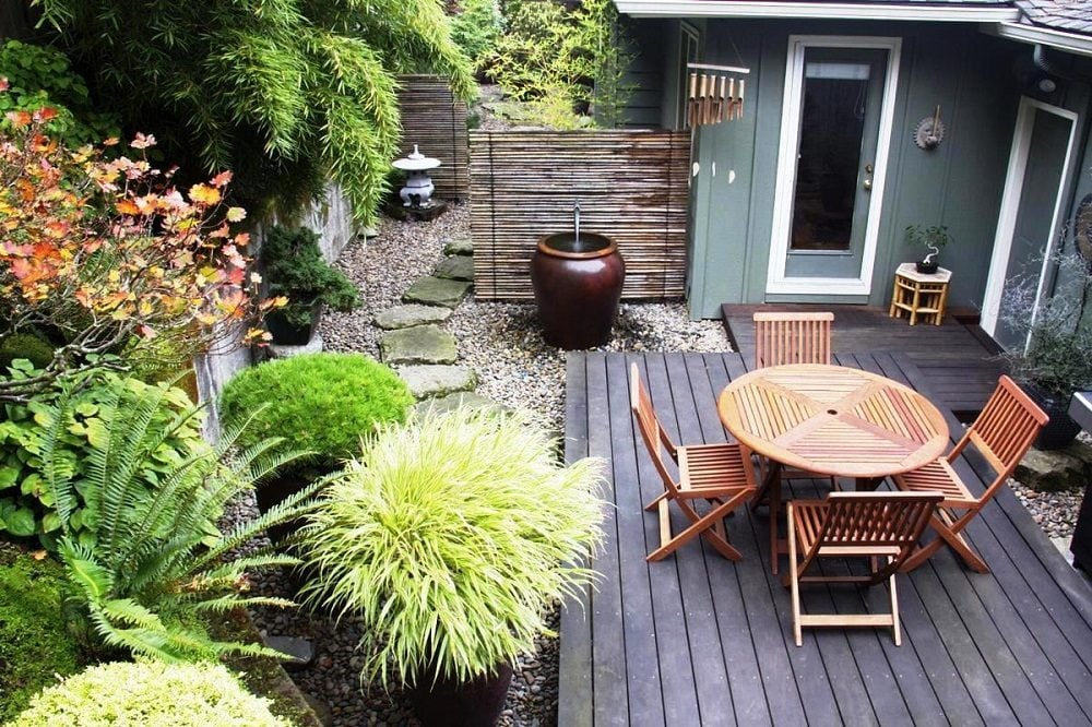 Patio Small Garden Design Ideas Gardening Ideas On Pinterest Small Gardens Rooftop Patio Intended - wallpaper