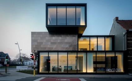 10 ngôi nhà với thiết kế hình khối cực đẹp và ấn tượng