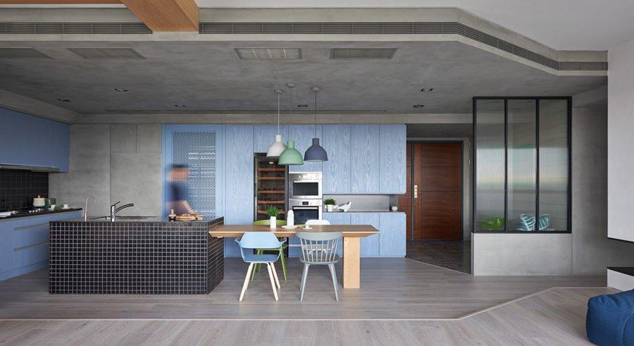12a 1465461151 1200x0 Căn hộ đa năng tại Đài Loan với thiết kế lý tưởng cho trẻ nhỏ qpdesign