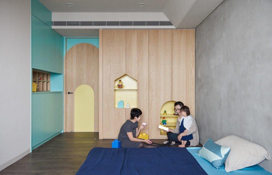 16 1465461152 1200x0 Căn hộ đa năng tại Đài Loan với thiết kế lý tưởng cho trẻ nhỏ qpdesign