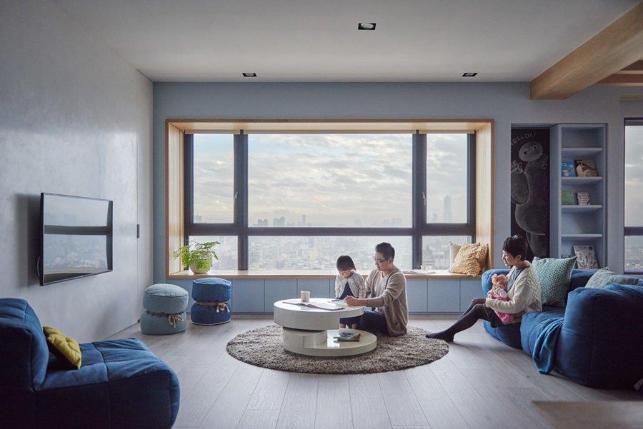 3 1465461149 1200x0 Căn hộ đa năng tại Đài Loan với thiết kế lý tưởng cho trẻ nhỏ qpdesign