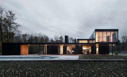 Rosenberry Residence – Biệt thự nghỉ dưỡng phong cách hiện đại tại Canada