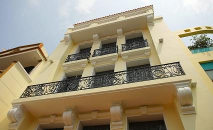 Phong cách kiến trúc Đông Dương giữa lòng Sài Gòn hiện đại