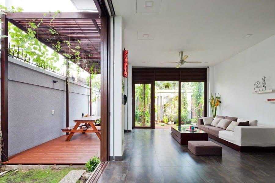 1 1470630268 1200x0 Ngôi nhà Sài Gòn có mặt tiền biến đổi theo ý muốn qpdesign