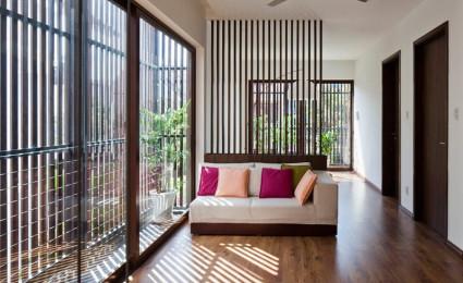 Ngôi nhà Sài Gòn có mặt tiền biến đổi theo ý muốn