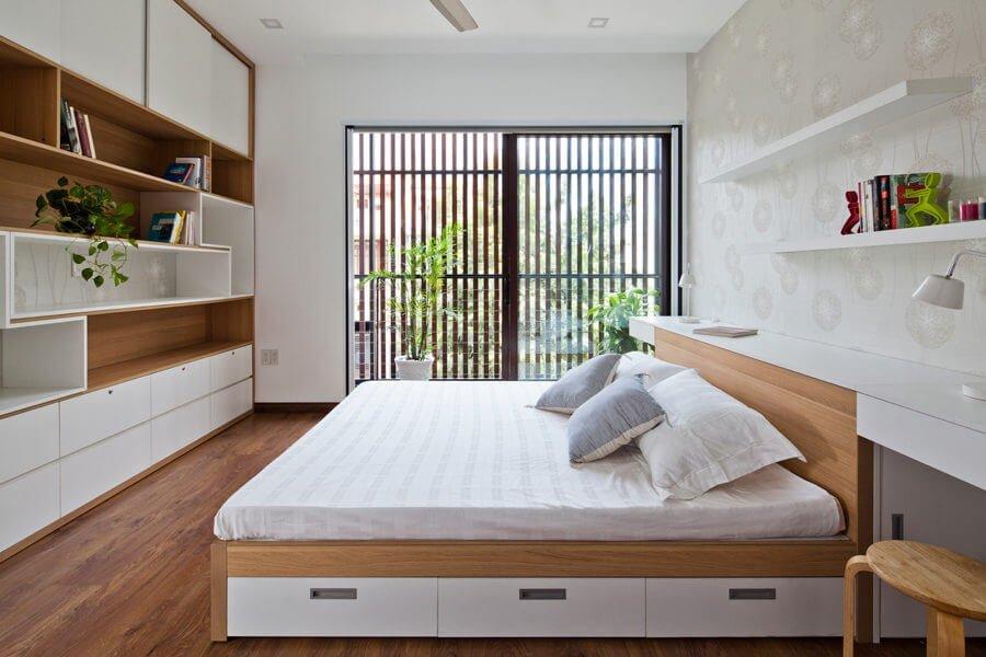 6 1 1470630271 1200x0 Ngôi nhà Sài Gòn có mặt tiền biến đổi theo ý muốn qpdesign