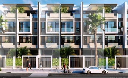 Thiết kế khu nhà liên kế dự án Vạn Phúc Riverside City – mẫu J26