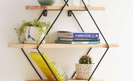Những mẫu kệ treo tường đẹp và độc đáo