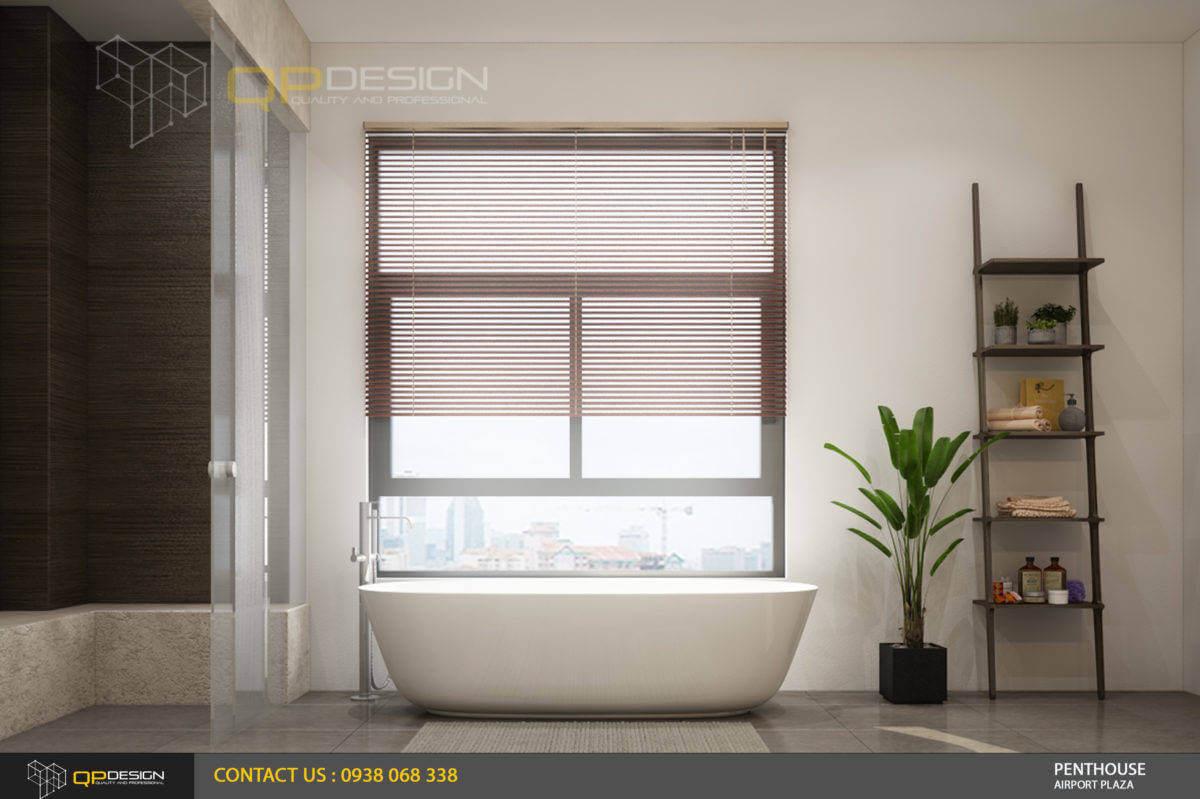thiết kế phòng vệ sinh căn hộ penthouse