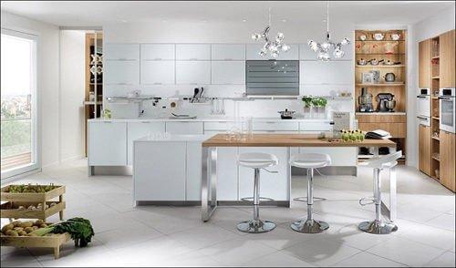 nha bep scandinavian 12 6 cách đơn giản để phòng bếp đẹp đúng chuẩn phong cách Scandinavia qpdesign