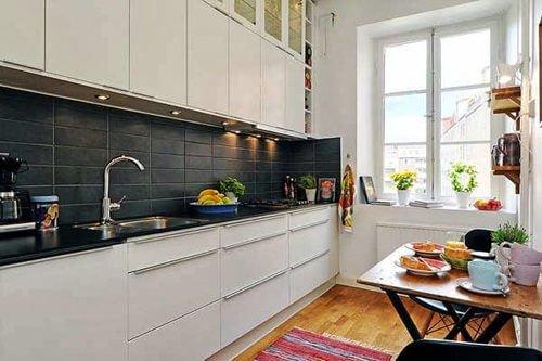 nha bep scandinavian 2 6 cách đơn giản để phòng bếp đẹp đúng chuẩn phong cách Scandinavia qpdesign