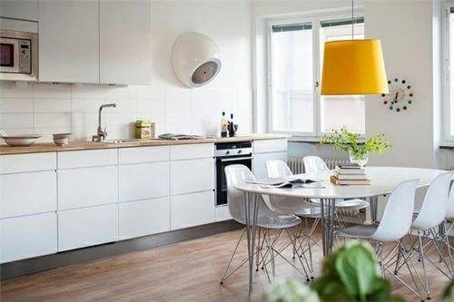 nha bep scandinavian 3 6 cách đơn giản để phòng bếp đẹp đúng chuẩn phong cách Scandinavia qpdesign