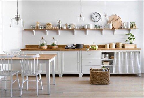 nha bep scandinavian 9 6 cách đơn giản để phòng bếp đẹp đúng chuẩn phong cách Scandinavia qpdesign
