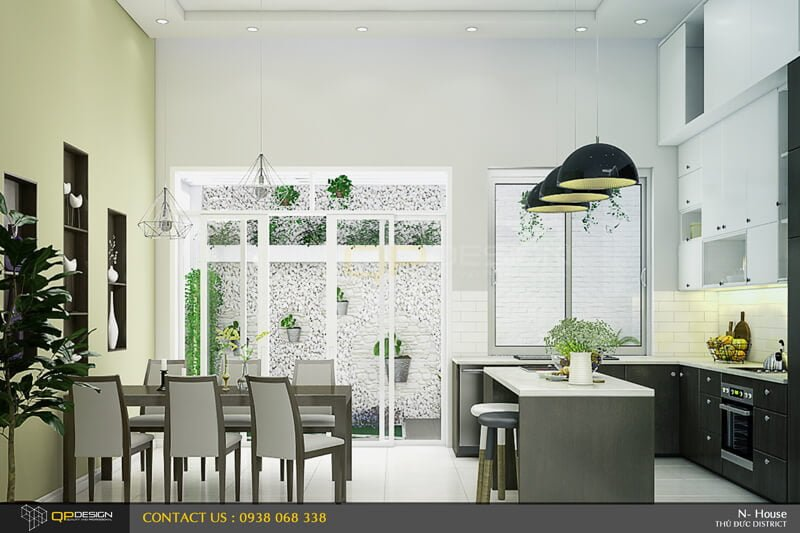 Thiết kế nội thất nhà phố - Nga House