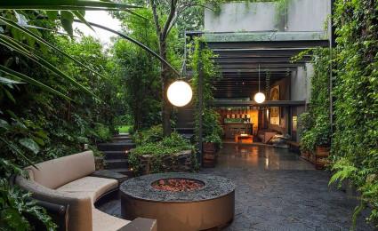 Ngôi nhà với những mảng xanh đầy quyến rũ tại Casa O' – Mexico