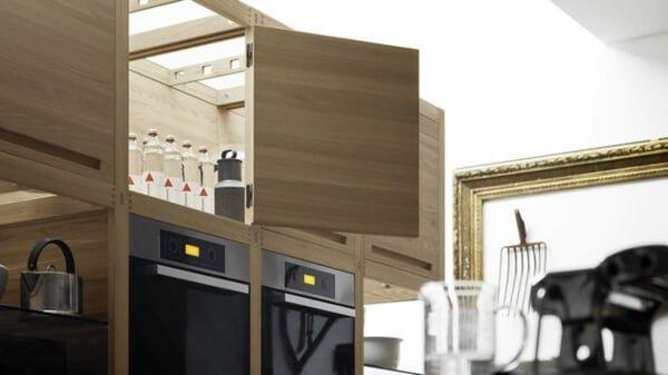 BEP 8 Bếp gỗ tự nhiên  Đẳng cấp của sự sang trọng qpdesign