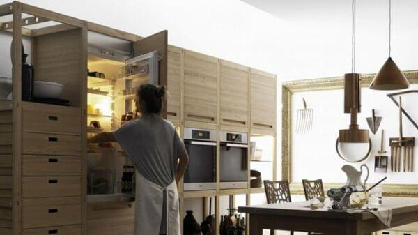 Bếp không chỉ là nơi nấu ăn mà còn là nơi sinh hoạt chung cho cả gia đình
