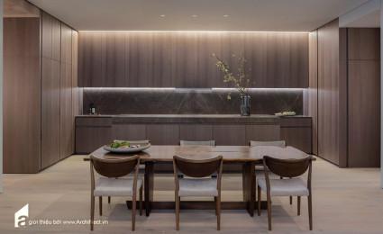 Căn hộ do KTS. Tadao Ando thiết kế