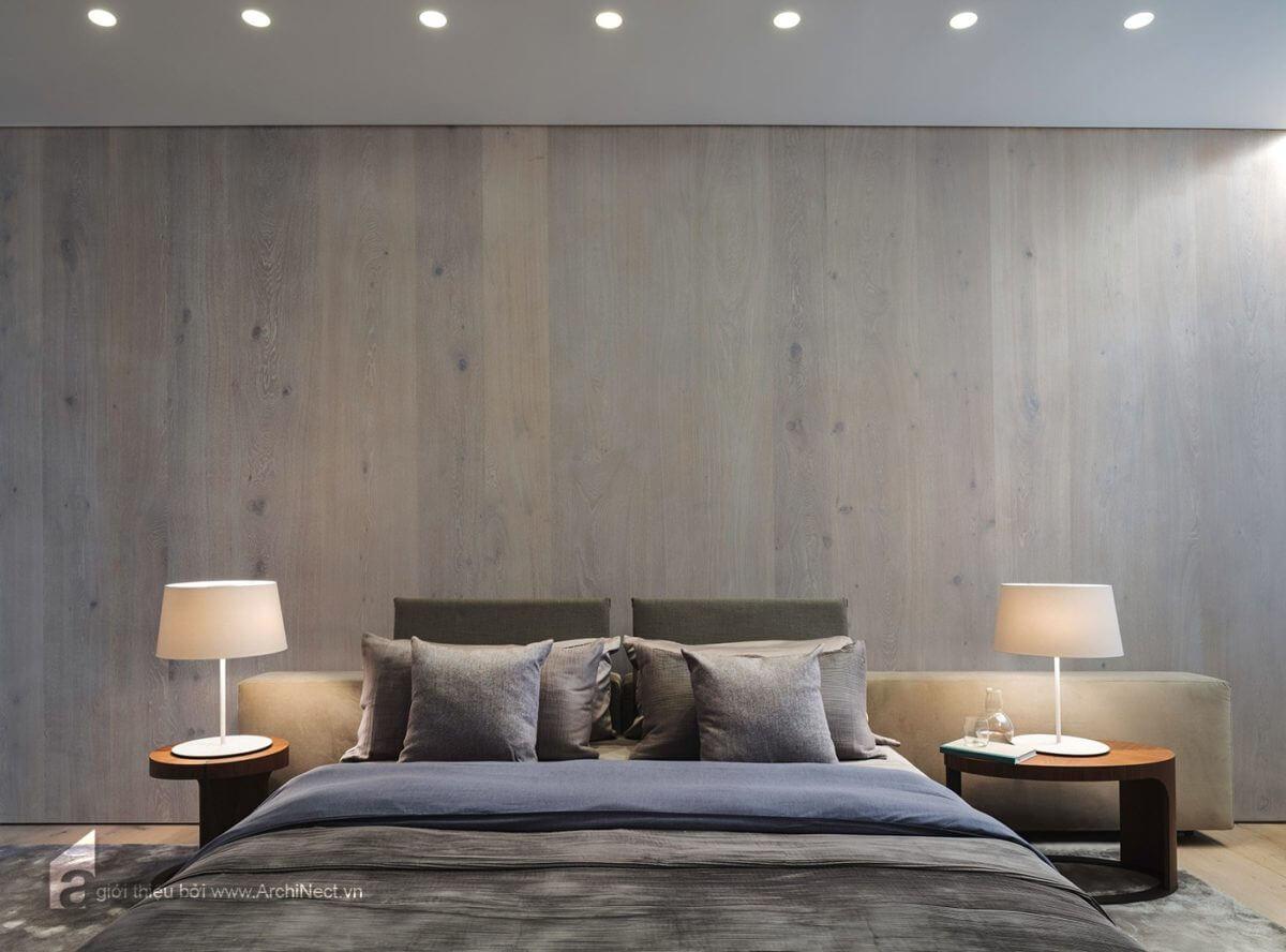 phòng ngủ ấm áp và tinh tế trong thiết kế