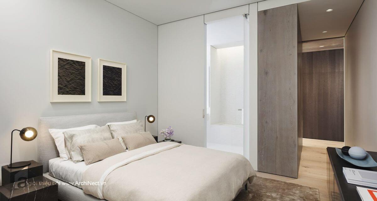 một không gian phòng ngủ khác của căn hộ này