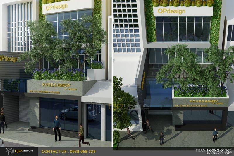 Thiết Kế Kiến trúc- Nội Thất Tòa nhà Thành Đạt