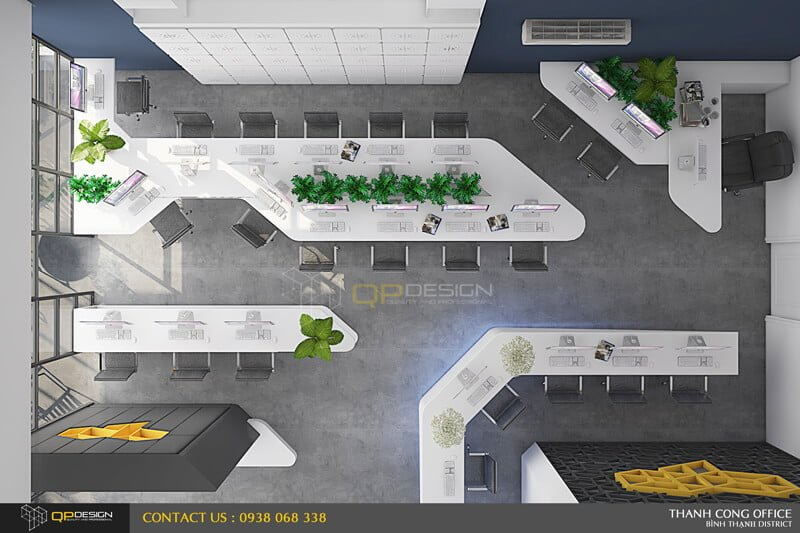 Thiết kế tòa nhà văn phòng thành đạt