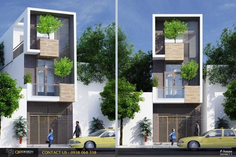 Thiết kế nhà phố quận 7